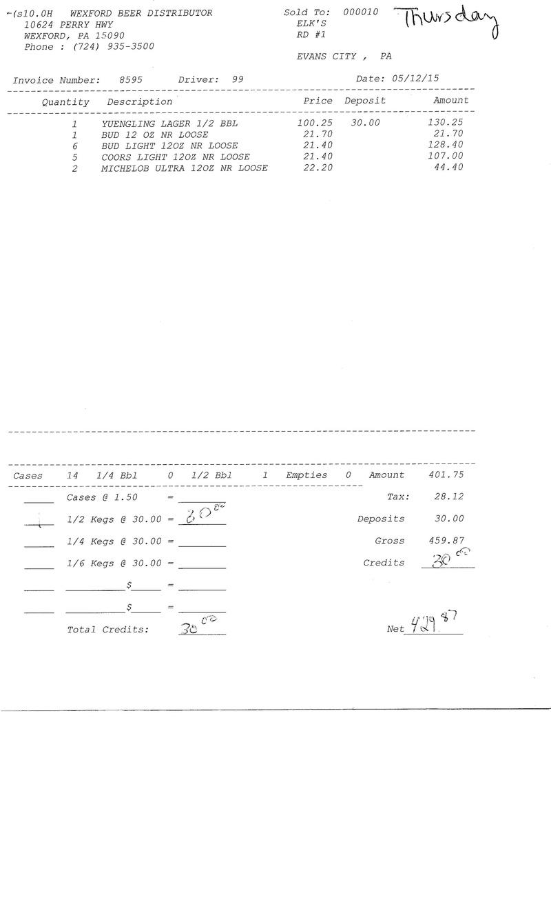 invoices 85xx 85xx0013