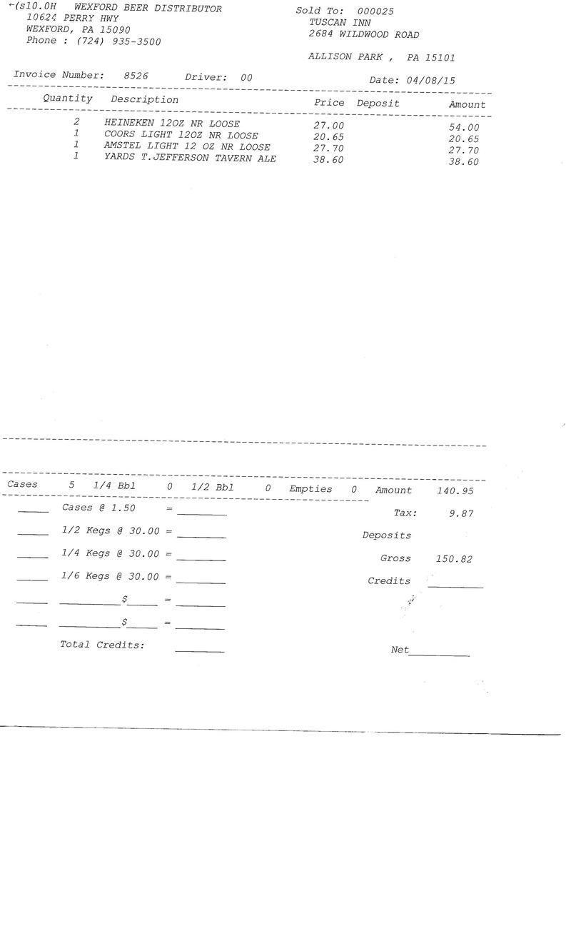 invoice 85xx 85xx0017