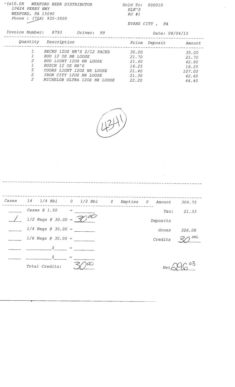invoices 87xx 87xx0015