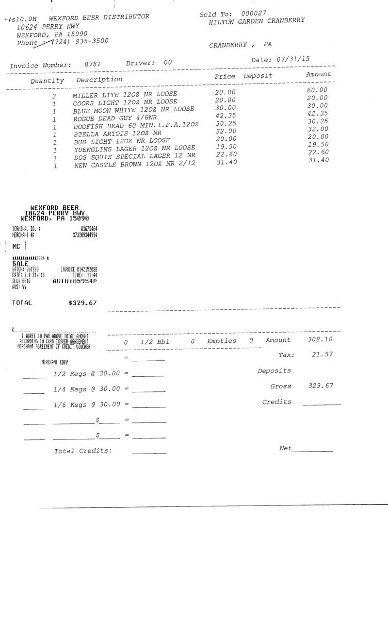 invoices 87xx 87xx0017