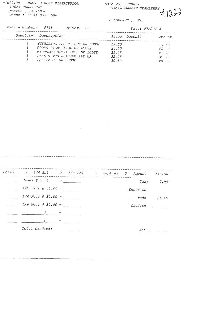 invoices 87xx 87xx0018
