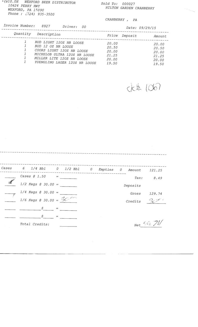 invoices 89xx 89xx0016