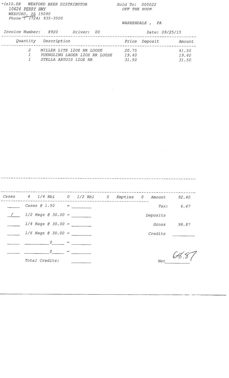 invoices 89xx 89xx0031