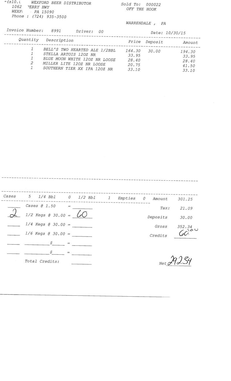 invoices 89xx 89xx0034