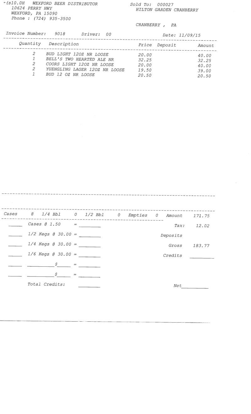 invoices 90xx 90xx0015