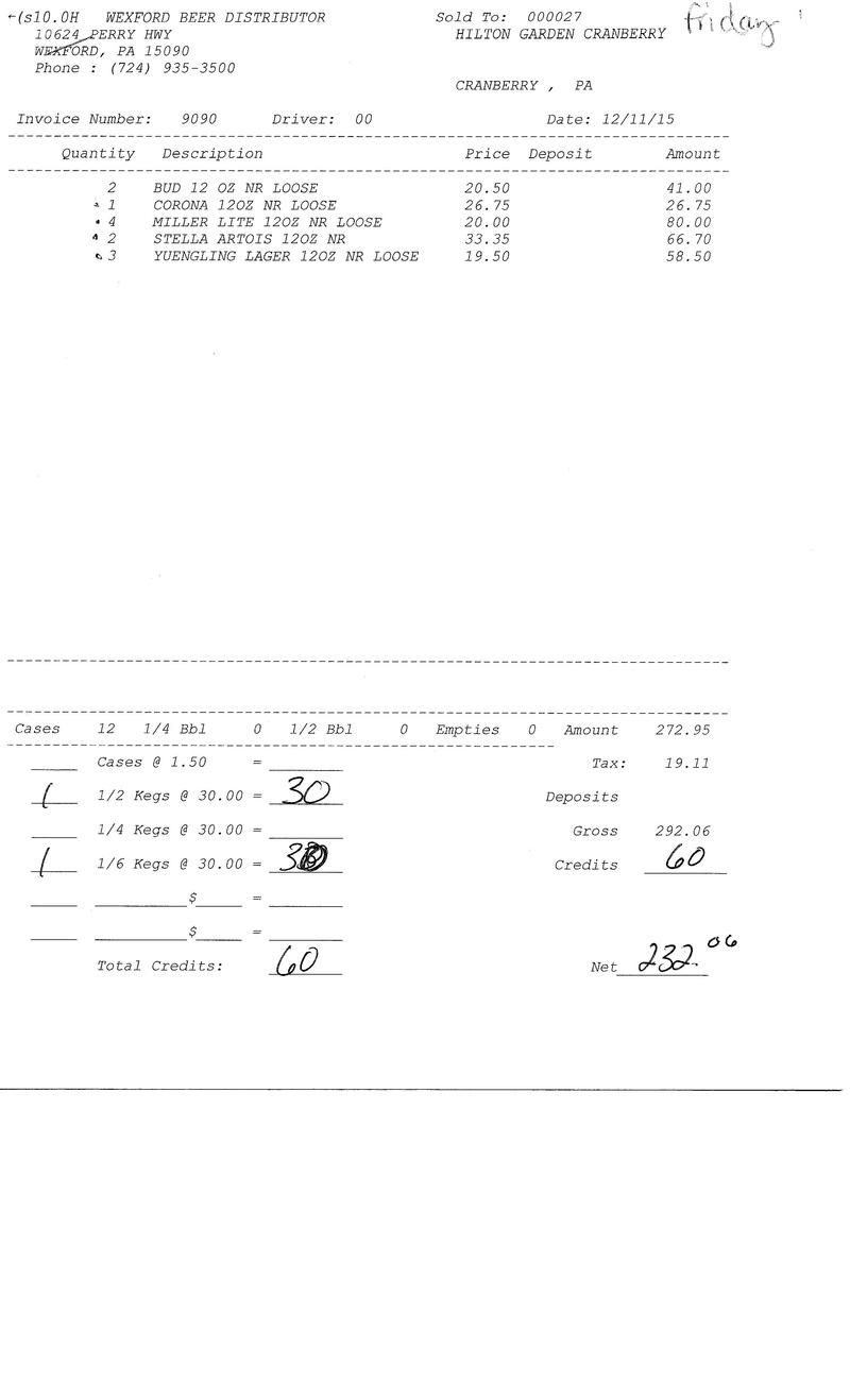 invoices 90xx 90xx0018