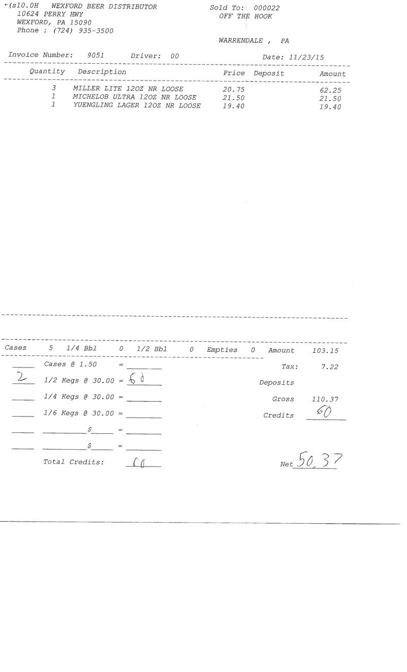 invoices 90xx 90xx0023
