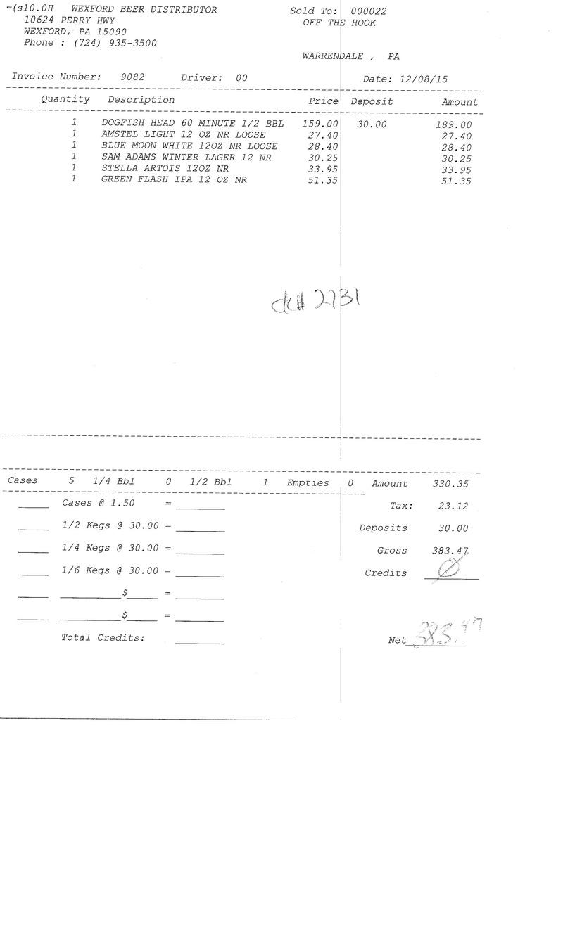 invoices 90xx 90xx0031