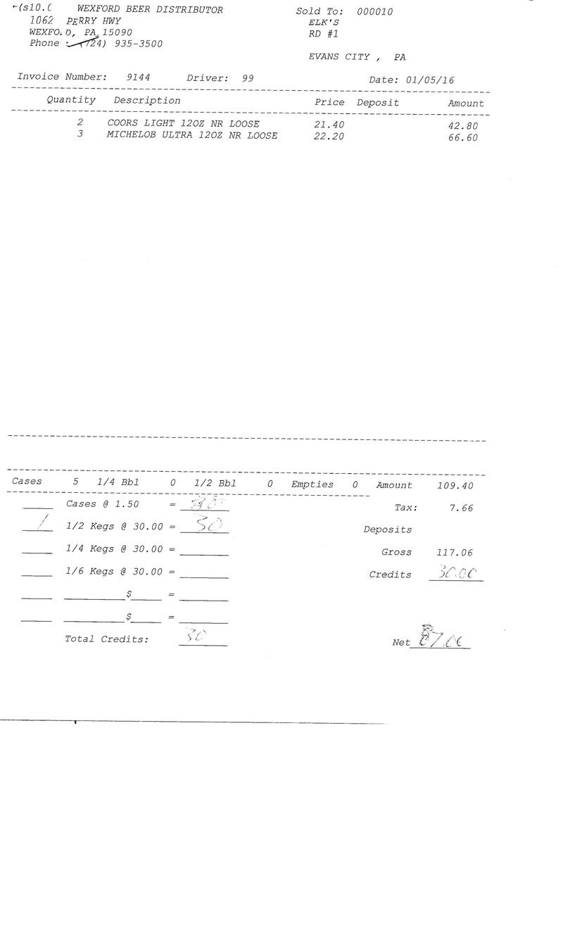 invoices 91xx 91xx0014
