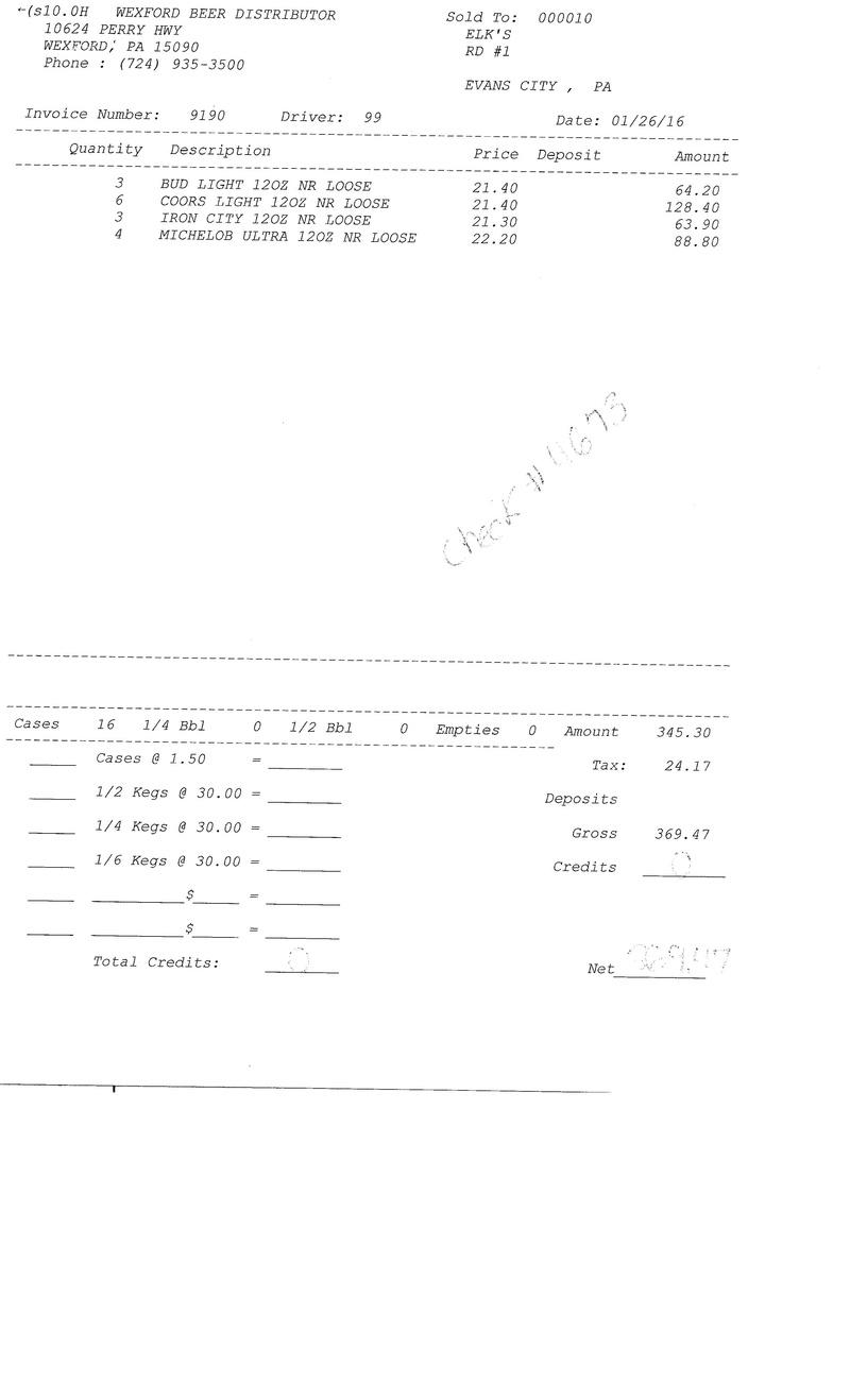 invoices 91xx 91xx0016