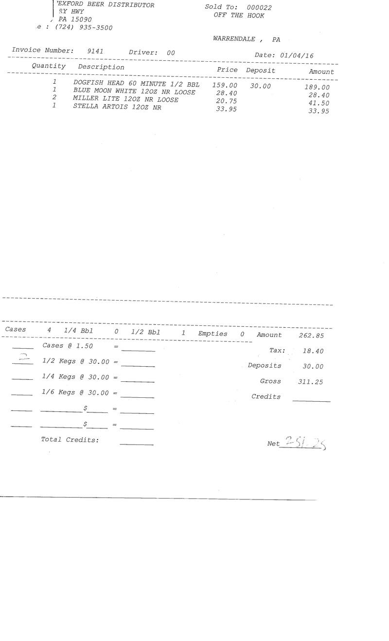 invoices 91xx 91xx0025