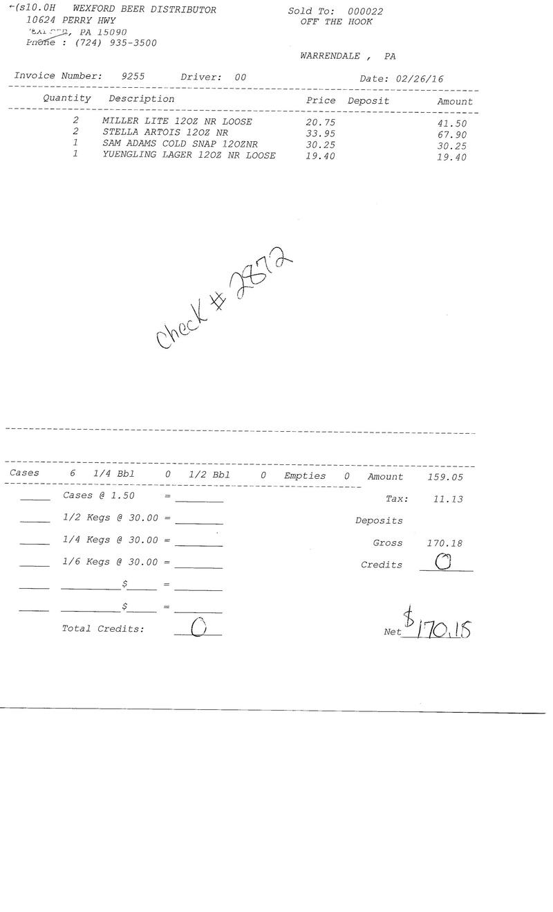 invoices 92xx 92xx0023