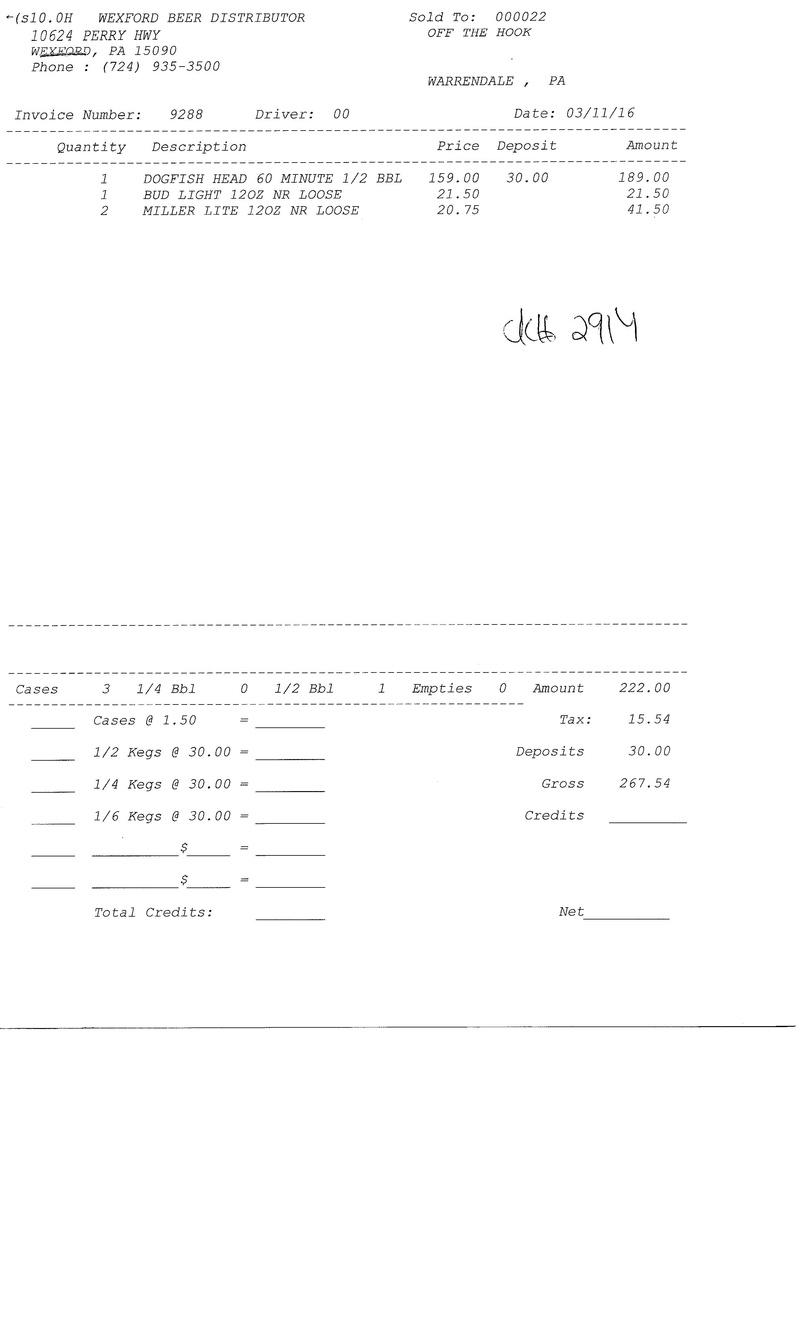 invoices 92xx 92xx0026