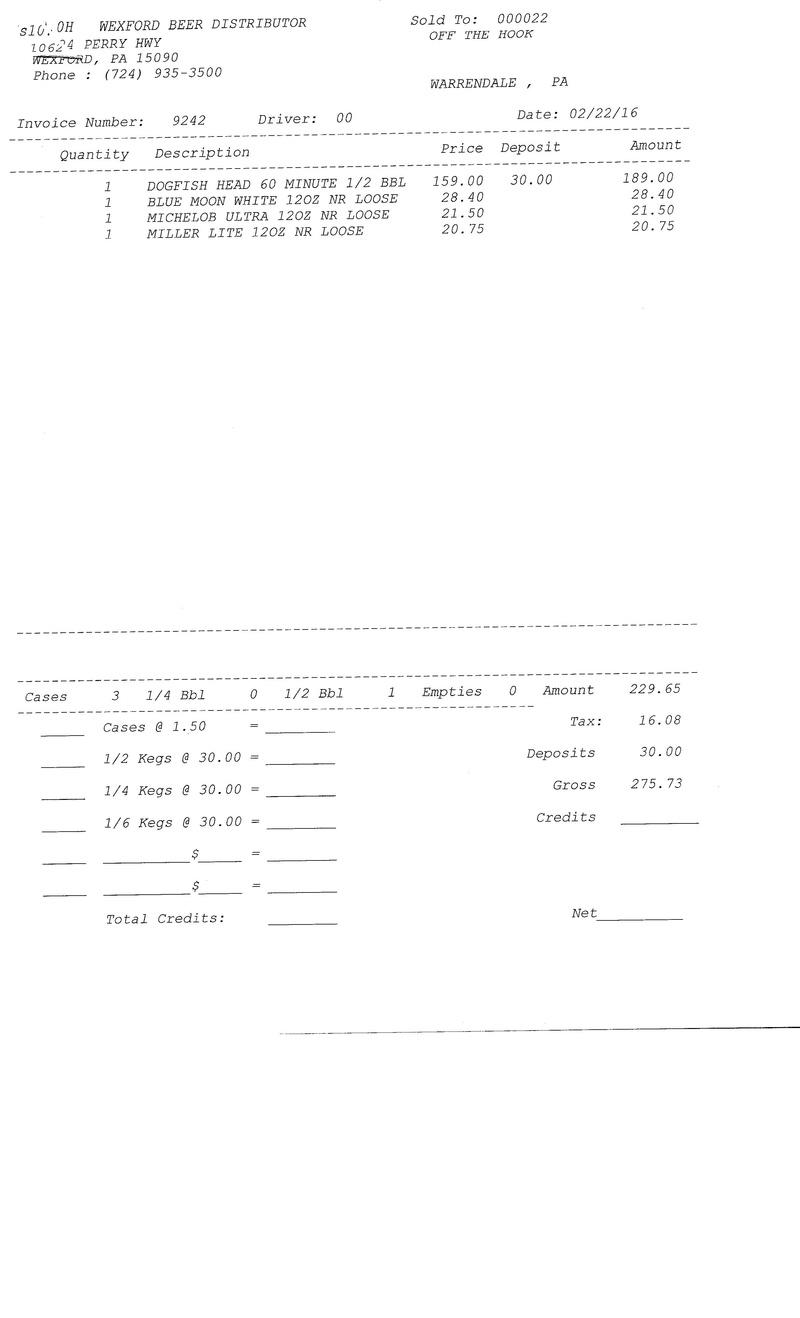 invoices 92xx 92xx0032