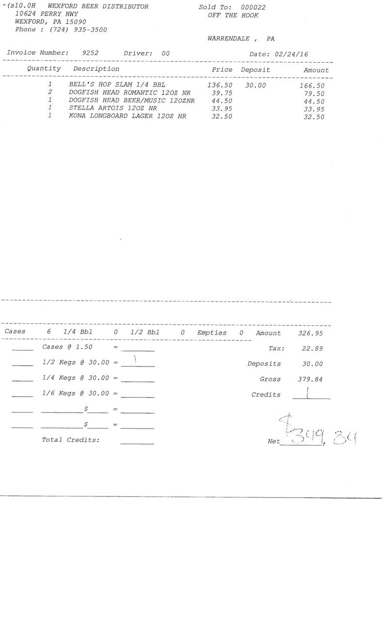 invoices 92xx 92xx0033