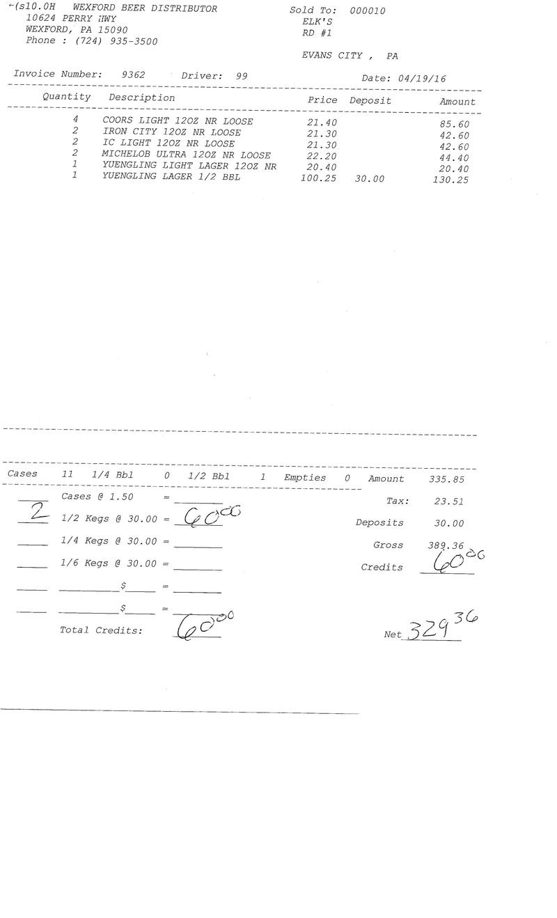 invoices 93xx 93xx0013