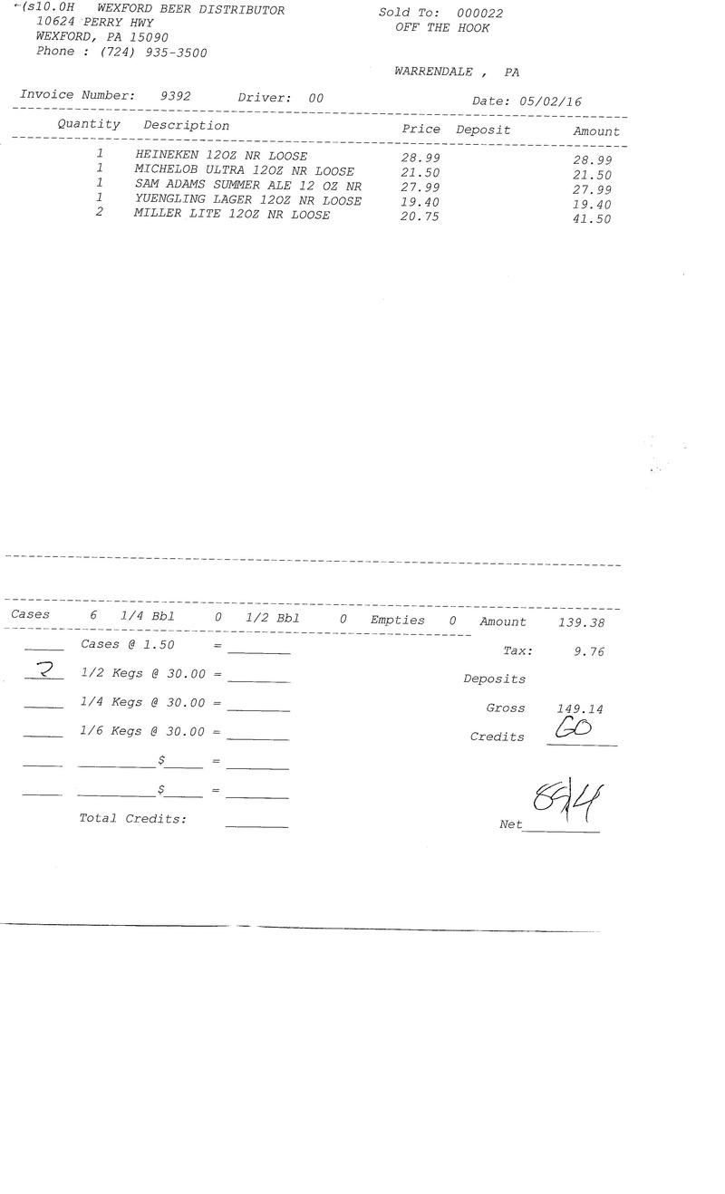 invoices 93xx 93xx0030