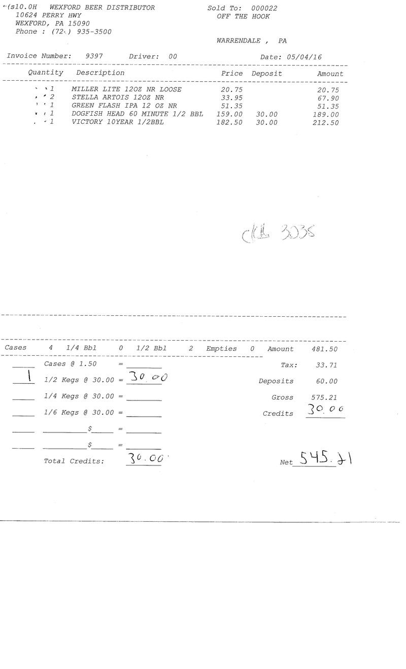 invoices 93xx 93xx0031