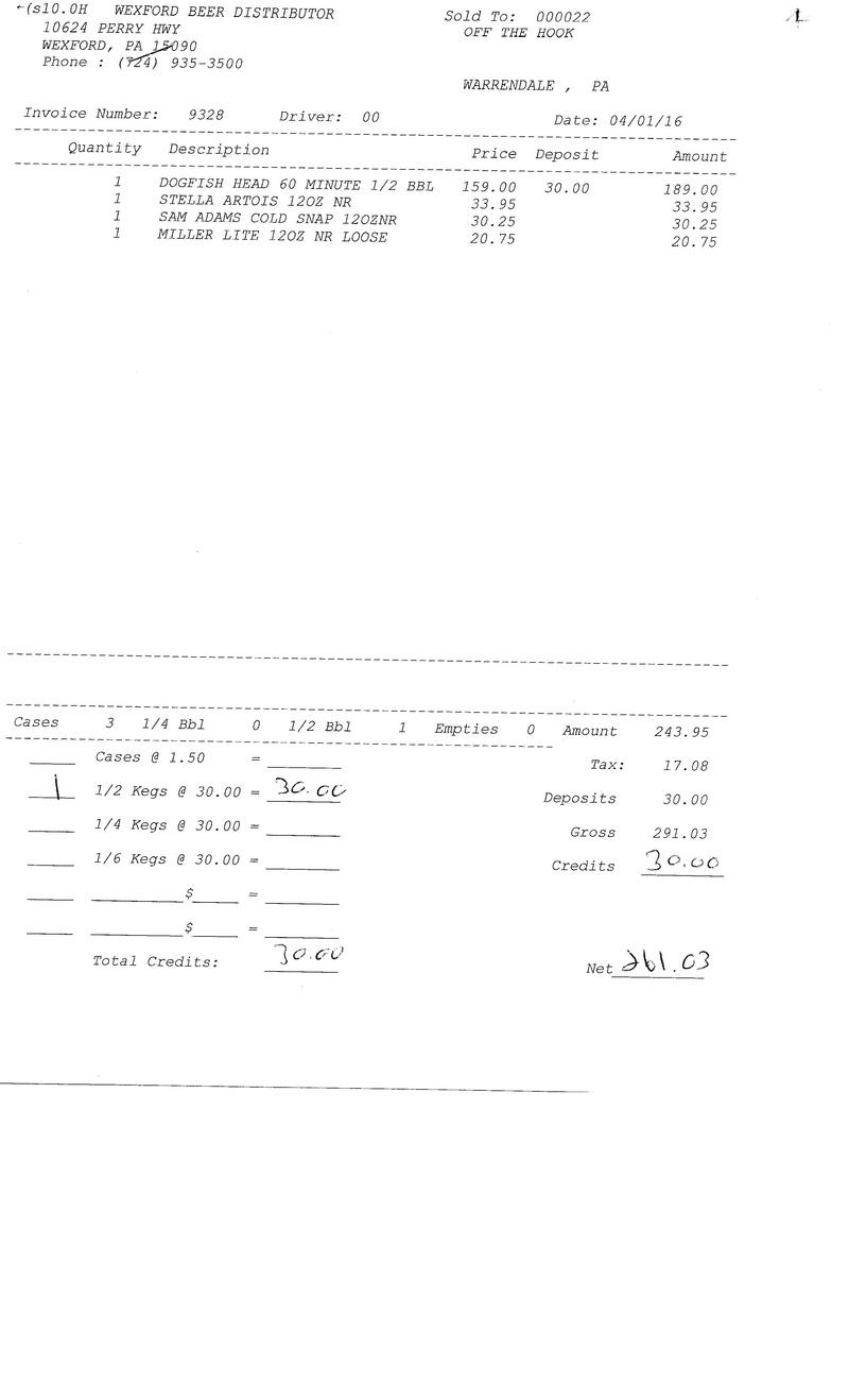 invoices 93xx 93xx0033