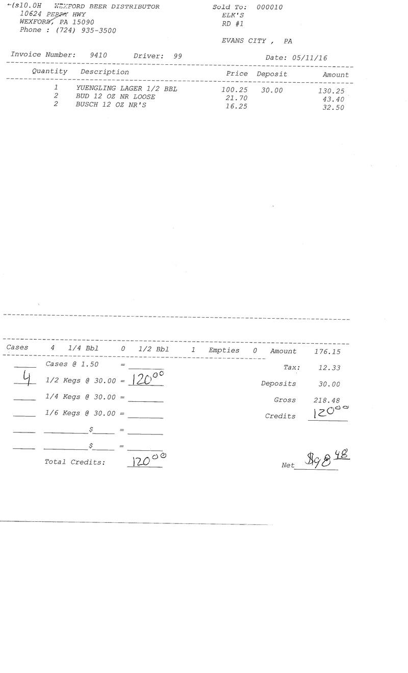 invoices 94xx 94xx0010