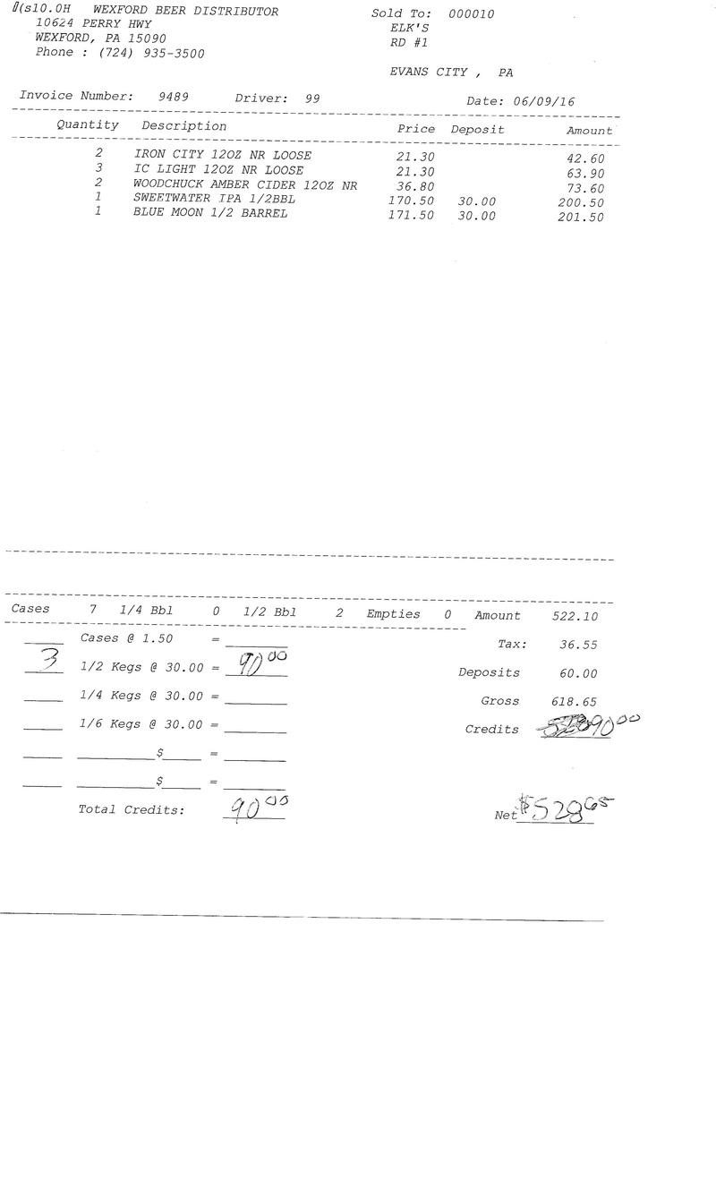 invoices 94xx 94xx0011