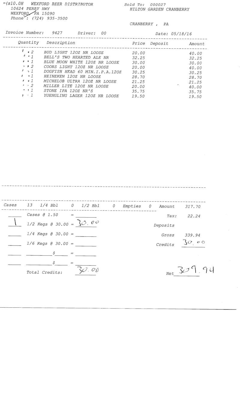 invoices 94xx 94xx0016