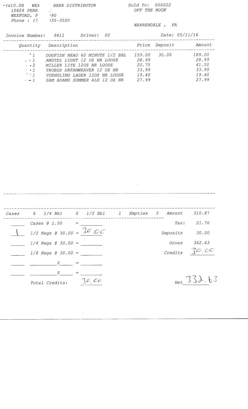 invoices 94xx 94xx0023