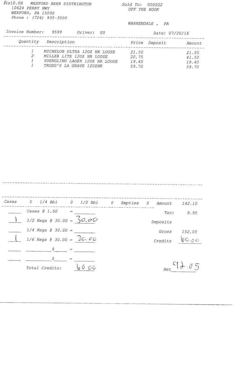invoices 95xx 95xx0019