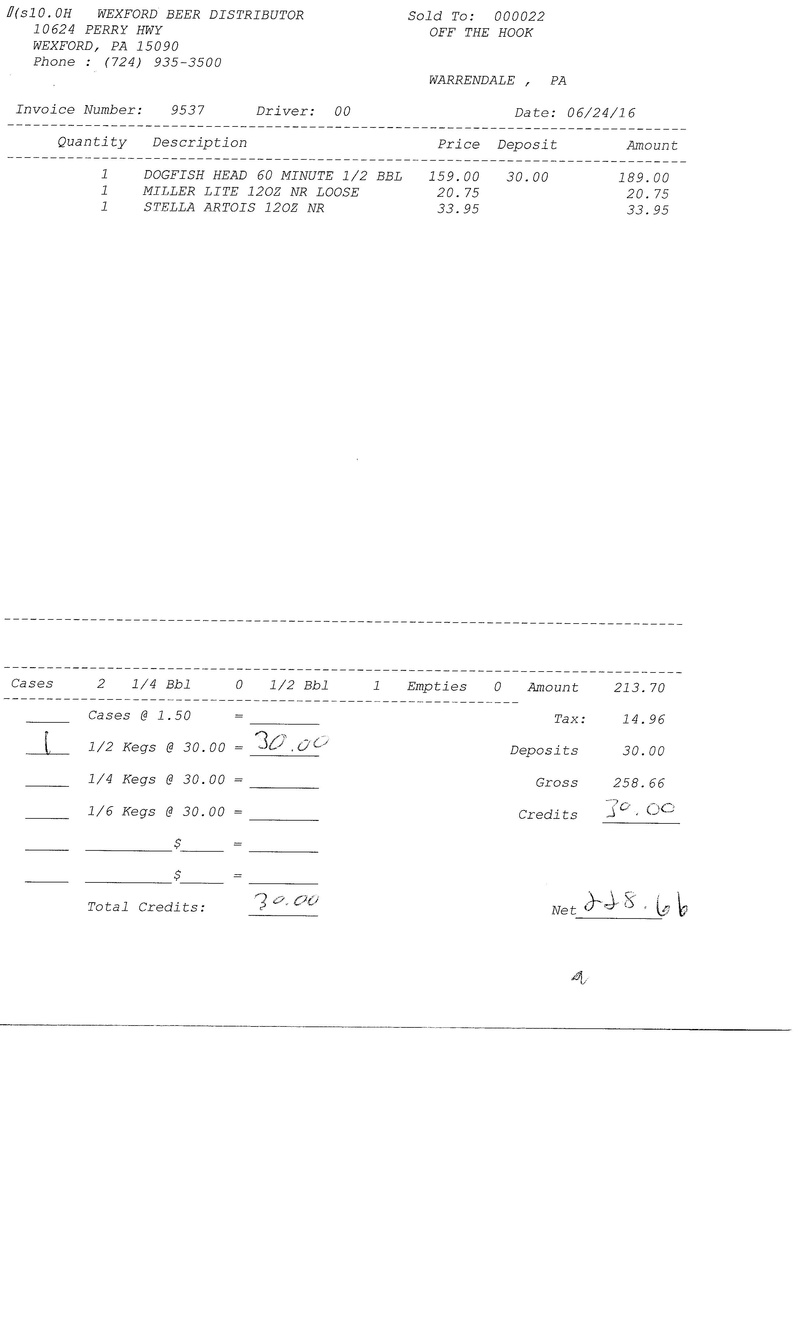 invoices 95xx 95xx0022