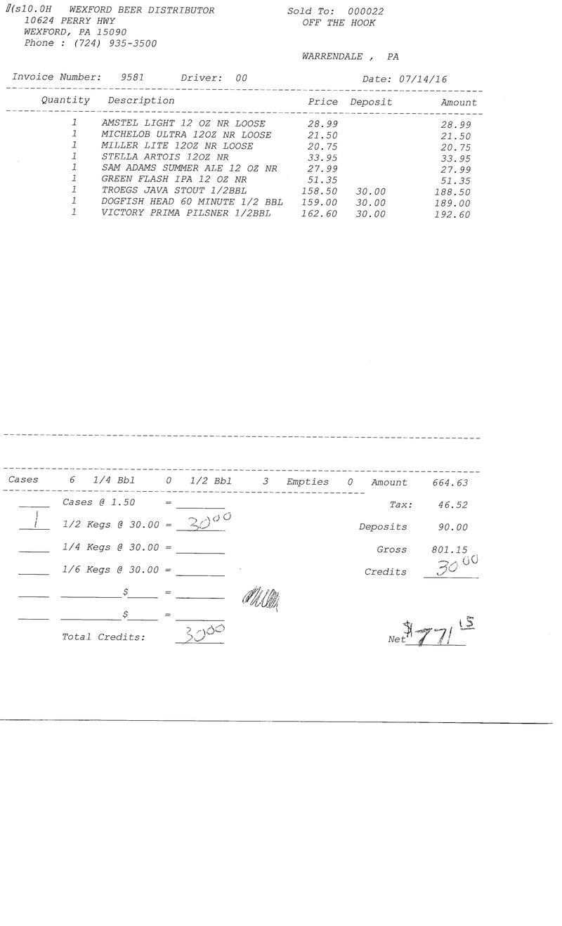 invoices 95xx 95xx0024