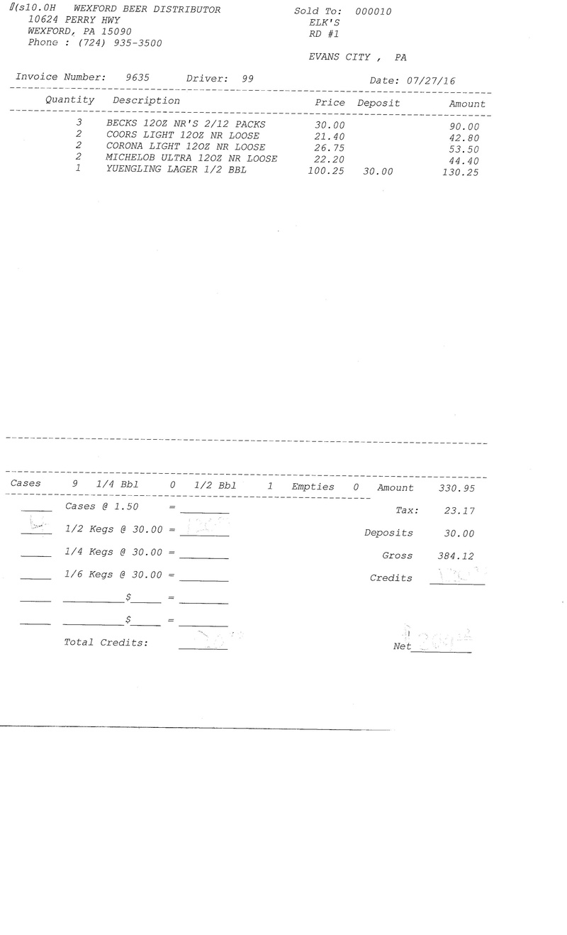 invoices 96xx 96xx0010