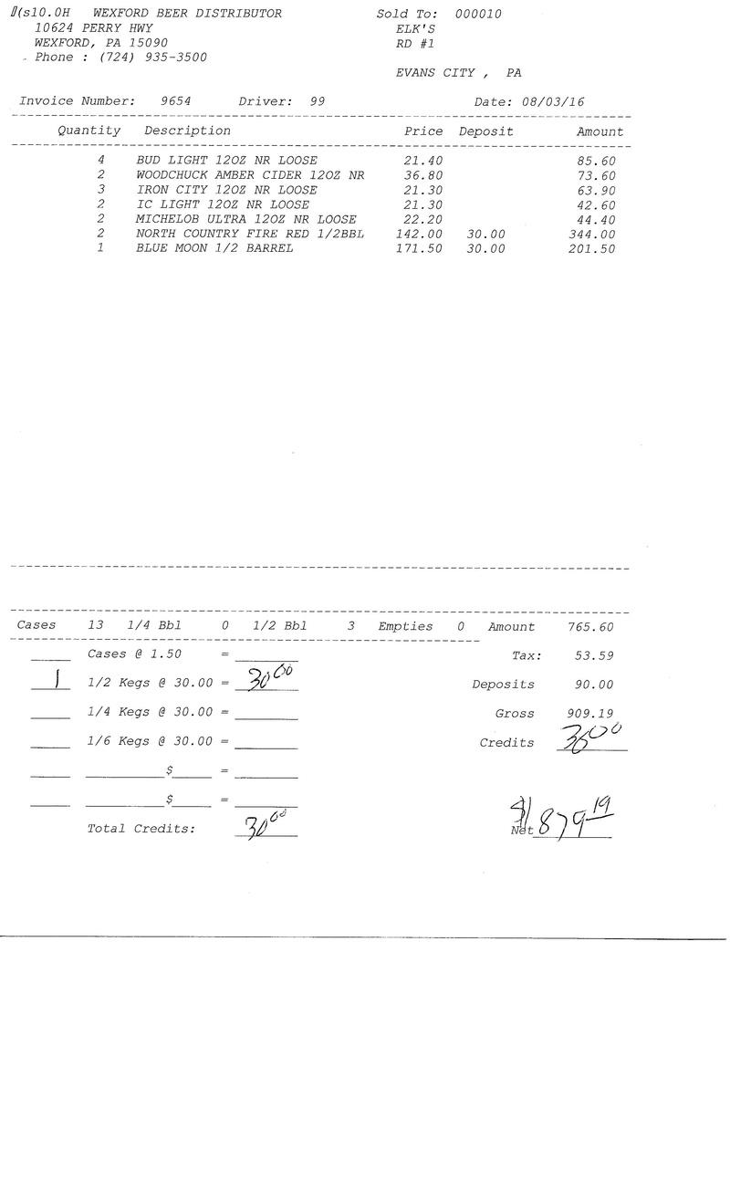 invoices 96xx 96xx0011