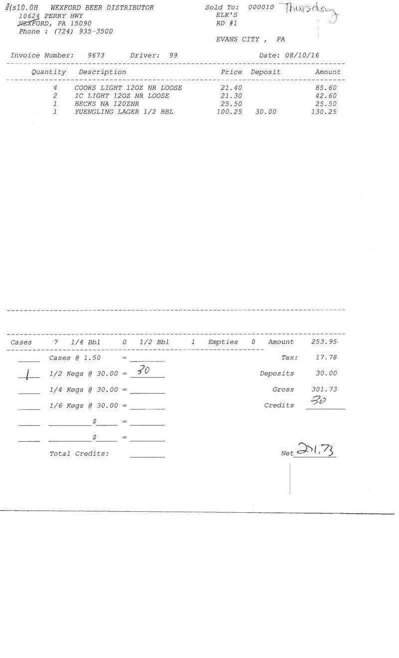invoices 96xx 96xx0012