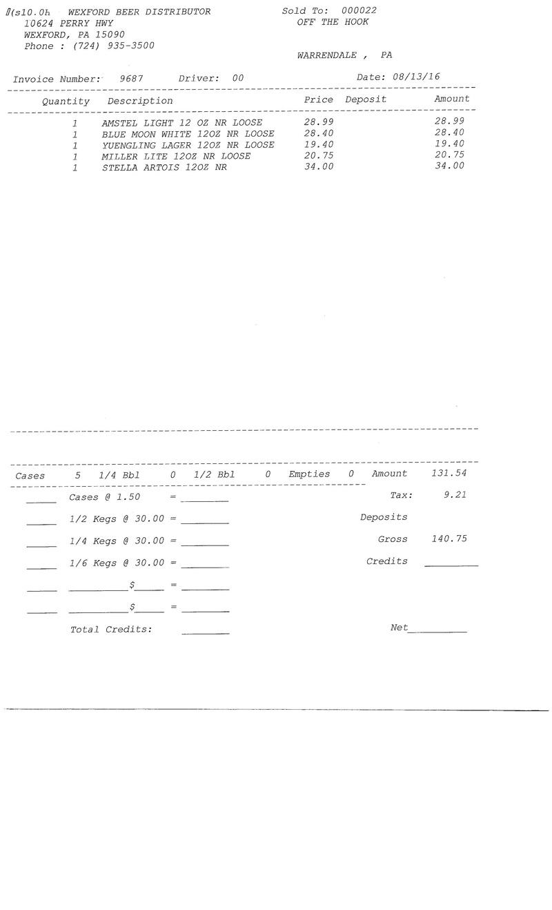 invoices 96xx 96xx0020