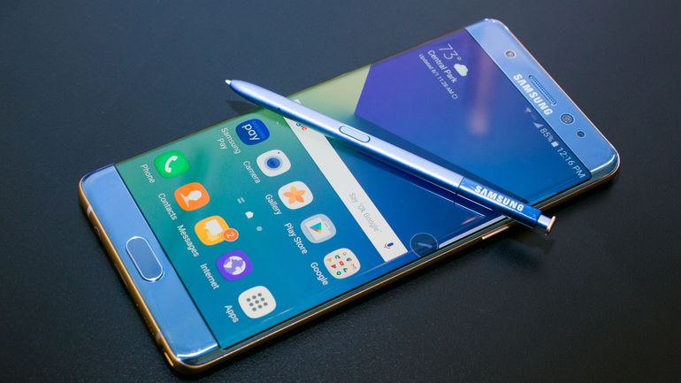 Samsung responde al último incidente del incidente de los nuevos Galaxy Note 7 a bordo de un avión Okga10