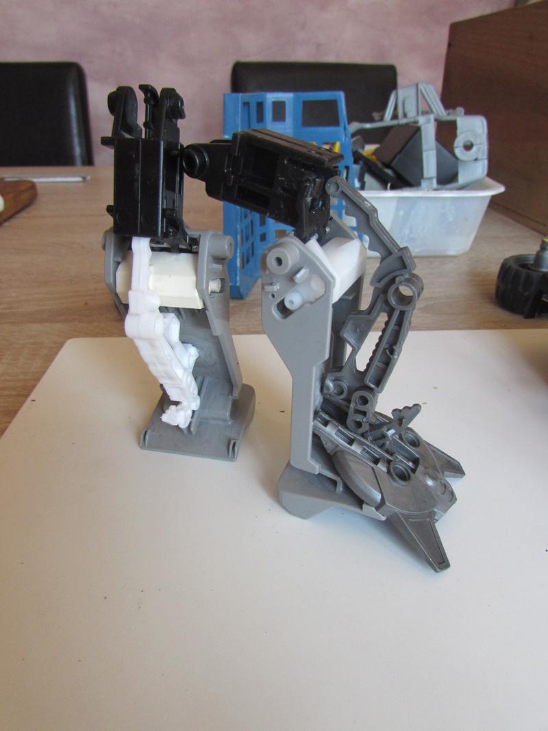 """Robot de chargement 2199 et des poussières - Ma première machine à café """"comme quoi on peut tout faire avec rien..."""" E14"""