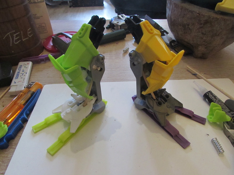 """Robot de chargement 2199 et des poussières - Ma première machine à café """"comme quoi on peut tout faire avec rien..."""" F12"""