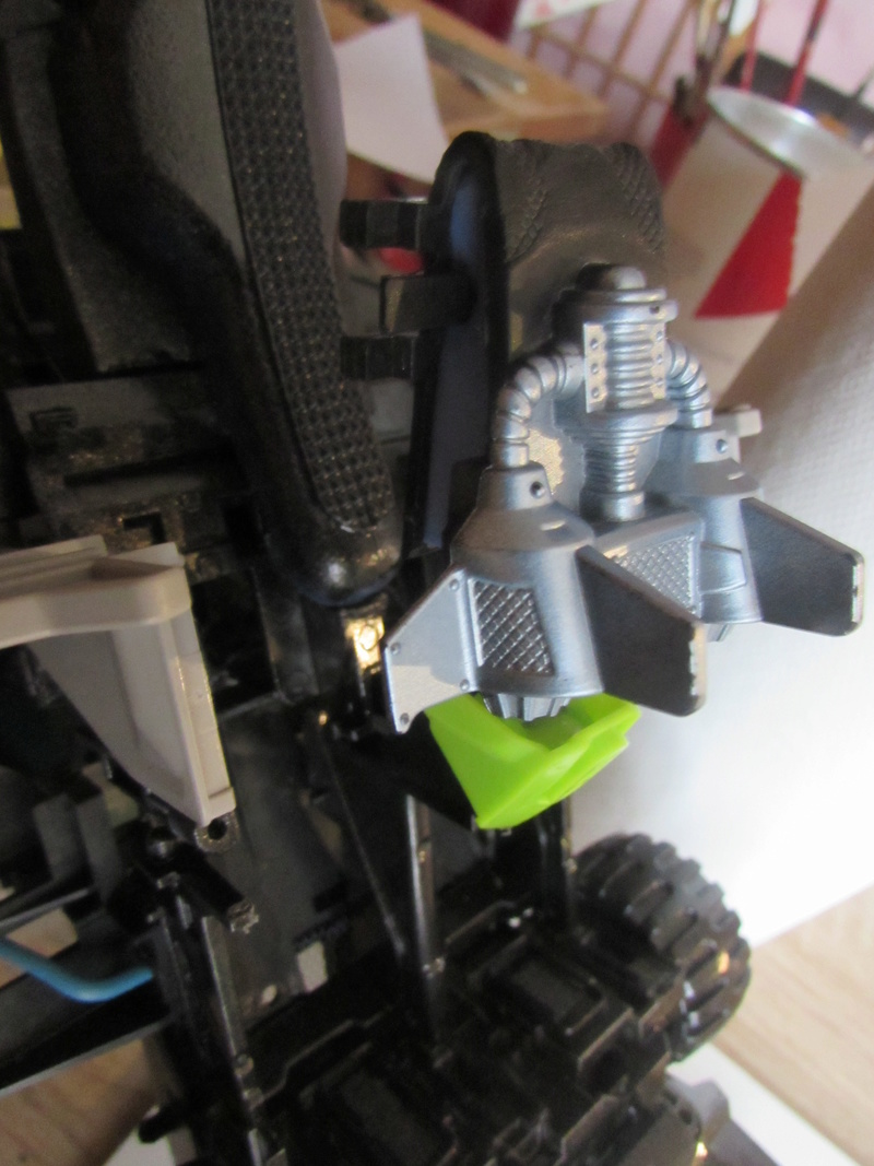 """Robot de chargement 2199 et des poussières - Ma première machine à café """"comme quoi on peut tout faire avec rien..."""" I12"""