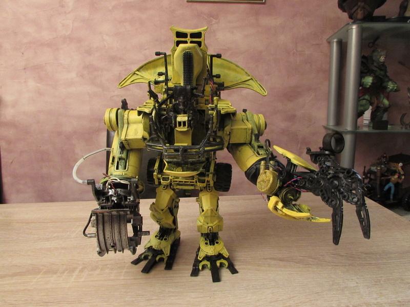 """Robot de chargement 2199 et des poussières - Ma première machine à café """"comme quoi on peut tout faire avec rien..."""" Img_3611"""