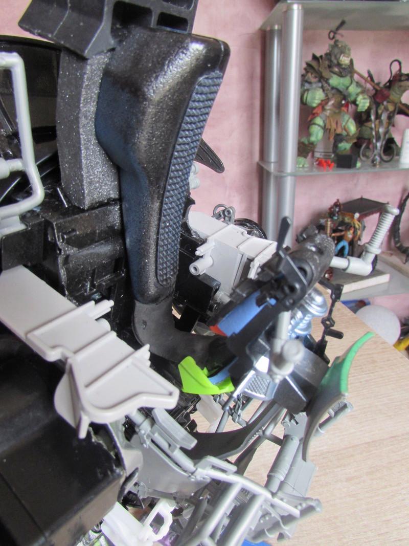 """Robot de chargement 2199 et des poussières - Ma première machine à café """"comme quoi on peut tout faire avec rien..."""" J12"""
