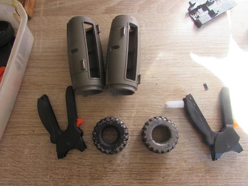 """Robot de chargement 2199 et des poussières - Ma première machine à café """"comme quoi on peut tout faire avec rien..."""" K12"""