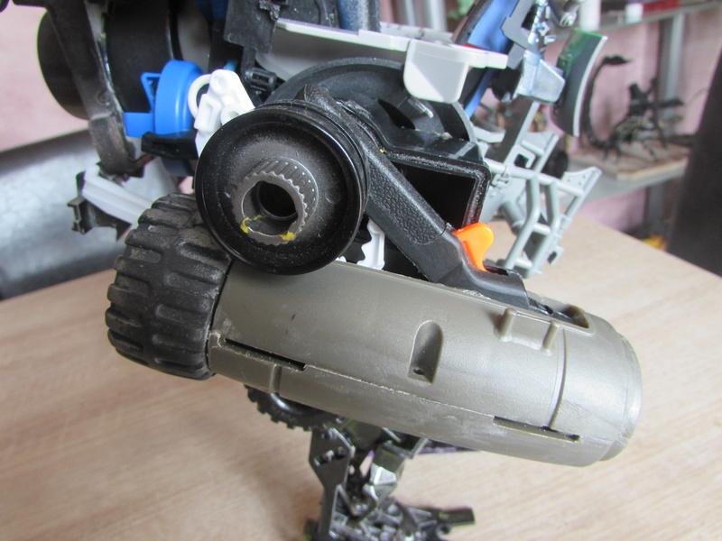 """Robot de chargement 2199 et des poussières - Ma première machine à café """"comme quoi on peut tout faire avec rien..."""" L12"""