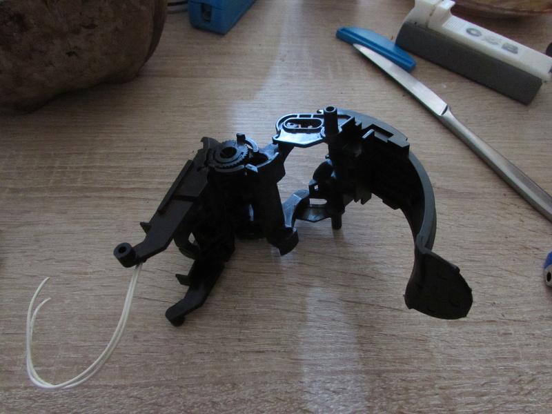 """Robot de chargement 2199 et des poussières - Ma première machine à café """"comme quoi on peut tout faire avec rien..."""" M10"""