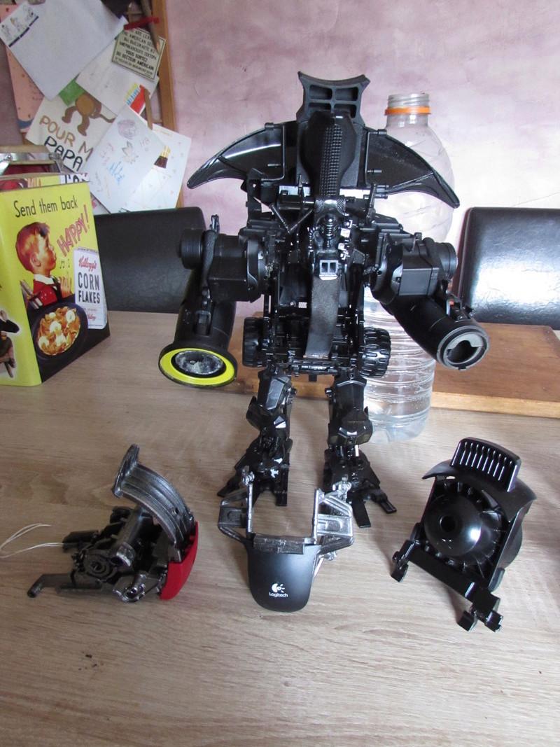"""Robot de chargement 2199 et des poussières - Ma première machine à café """"comme quoi on peut tout faire avec rien..."""" Q10"""