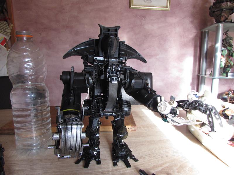 """Robot de chargement 2199 et des poussières - Ma première machine à café """"comme quoi on peut tout faire avec rien..."""" R10"""