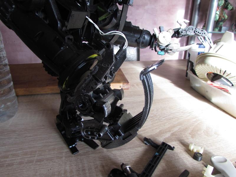 """Robot de chargement 2199 et des poussières - Ma première machine à café """"comme quoi on peut tout faire avec rien..."""" T10"""