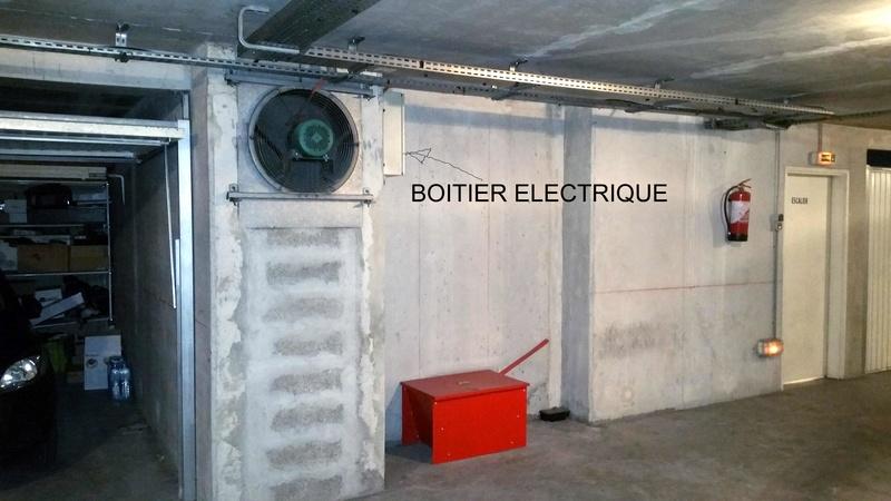 Prestataire pour installation de prise dans un garage (en immeuble en copro) : PROXISERVE ? Garage10