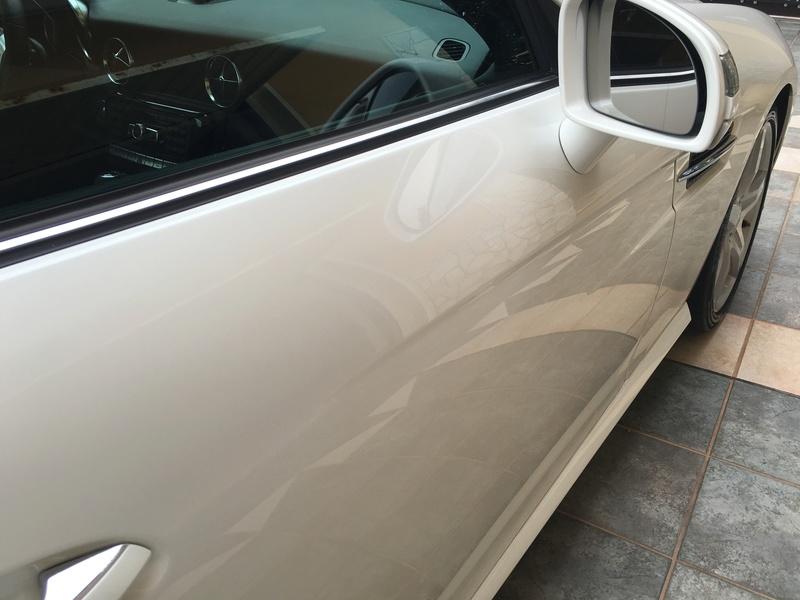SLK250 Pearl White  Img_1015