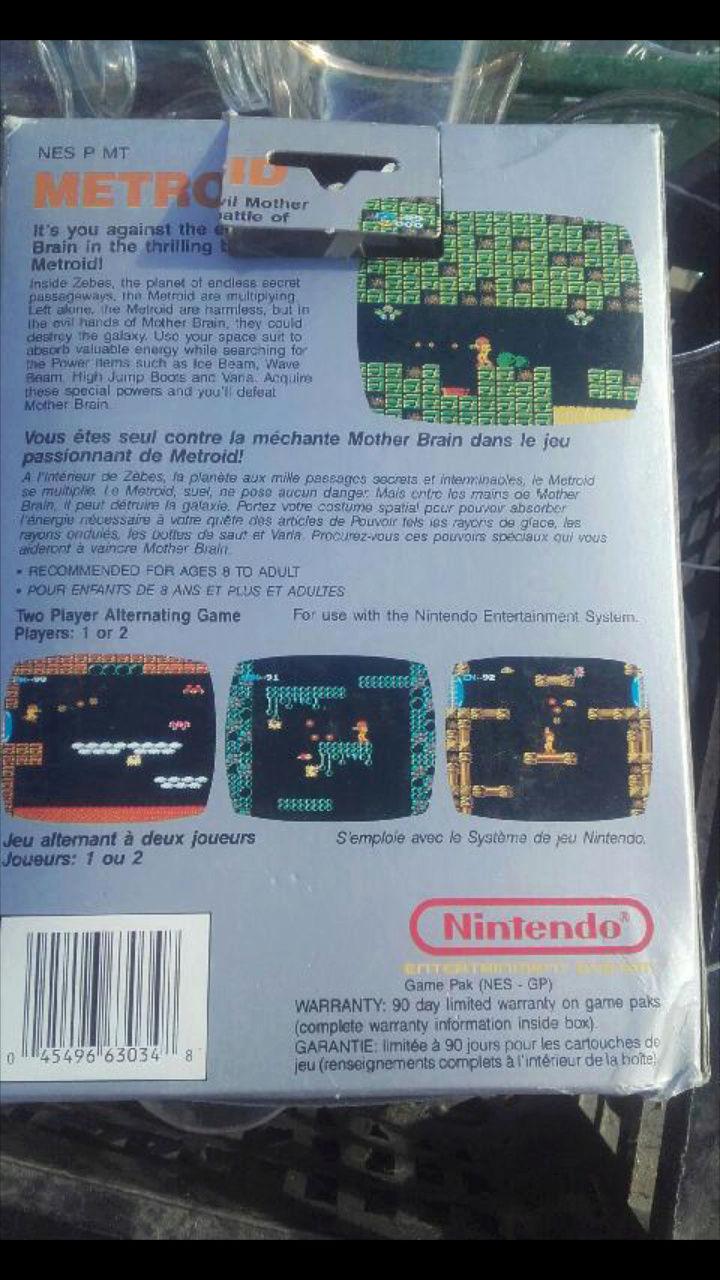 Fausse boîte NES Screen12
