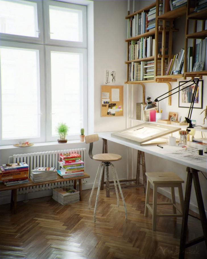 18 góc làm việc ấn tượng của người yêu thiết kế, sáng tạo ! Artist10
